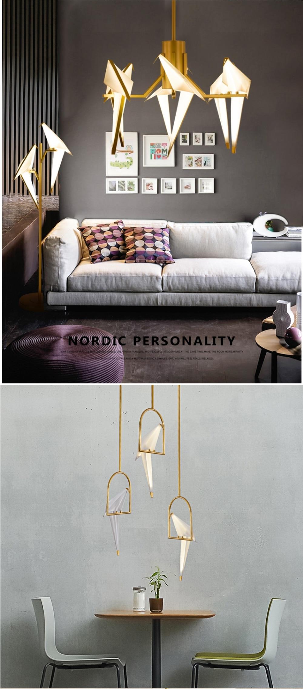 Ha9a6de4d9a6b4d689e1e4269f26bdba0s - LED Postmodern Iron Acryl Love Bird LED Lamp LED Light Wall lamp Wall Light Wall Sconce For Bedroom Corridor