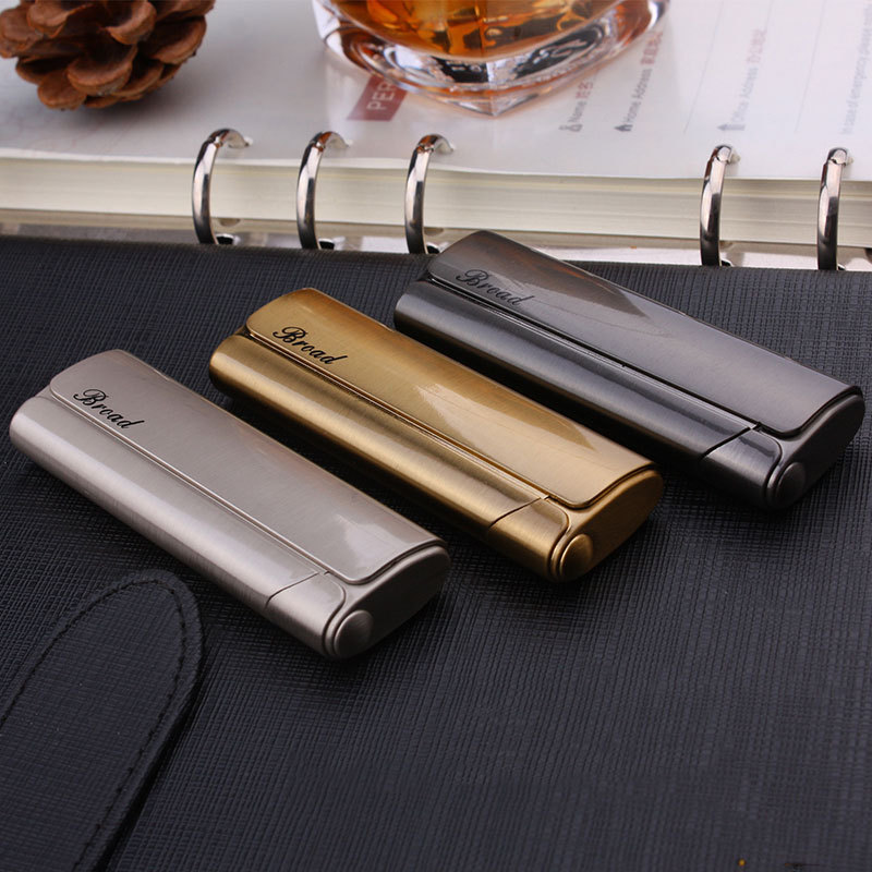 Metal Cigar Cigarettes Lighter Gadgets For Men Electronic Turbo Torch Lighters Smoking Accessories/Gas Lighter