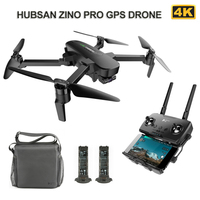 Hubsan Zino Pro GPS Drone with Camera for 4K UHD 5G WiFi 4km FPV Drone 3 Axis Gimbal Brushless Foldable RC Quadcopter VS H117s