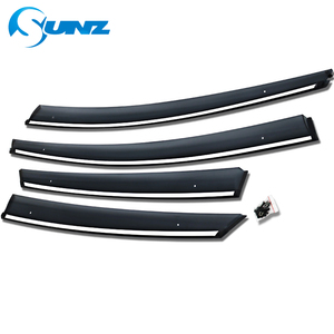 Image 3 - Window Air Vent Visor For Toyota Prius 2016 2017 2018 Window Visor Vent Shade Sun Rain Deflector Guards SUNZ