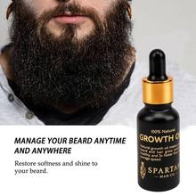Beard Growth Oil for Men Soften Hair Growth Nourishing Enhancer Beard Wax Balm M