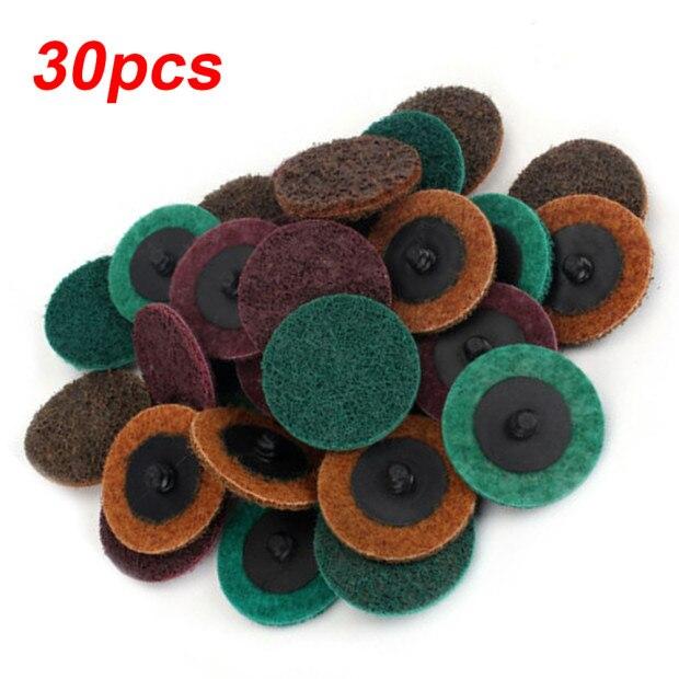30 шт./компл. шлифовальная полировка дисков кондиционирования шлифовальной колодки ржавчины Краски для удаления