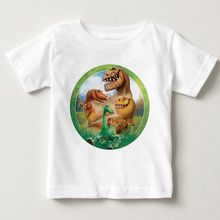 Boys The Good Dinosaur T Shirt 2019 Children Summer Cartoon Printed Clothes Cotton T-shirt Baby Shirts Tees Kids Tops Clothing