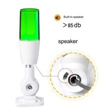 купить Alarm tricolor light 1 layer Tricolor folding LED warning lamp LED signal 12V/24V/110~220V tower lamp по цене 762.04 рублей