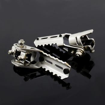 For Bmw R1200gs Lc Motorcycle Accessories Rider Front Foot Pegs Footrest Adapter