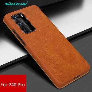 Image 3 - Nillkin Qin Book Flip Leather Case Cover For Huawei P40 Pro Pro+ Plus