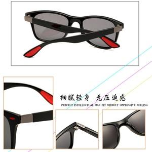 Image 3 - 2019 nuevo clásico gafas de sol polarizadas de las mujeres de los hombres conducción marco cuadrado gafas de sol de gafas para hombres UV400 conductor, gafas de gafas