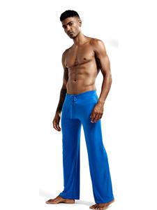 Clothing Trousers Pants Pajama Homewear Lounge Sleep-Bottoms Comfortable Soft Lacing