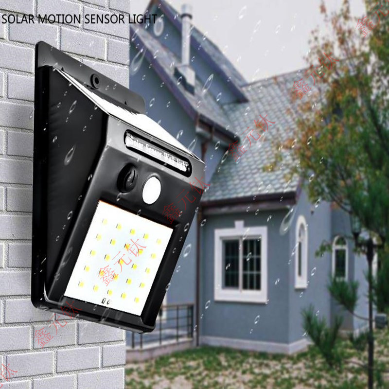 SOLAR MOTION SENSOR LIGHT Wall Lamp PIR Sensor CDS Night Sensor 20leds 30led Waterproof Outdoor Highlight Light