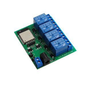 Image 4 - ESP32 4 チャンネル wifi bluetooth リレーモジュール eu ce 電源、米国の ul アダプタ充電 ttl コンバータモジュールアンドロイド ios 用