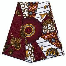 2019 Dutch African Wax print fabric Ankara Nigeria wrapper wax fabric 100% pure cotton 2019 new designs african wax print fabric dutch wax ankara wax fabric 100% pure cotton