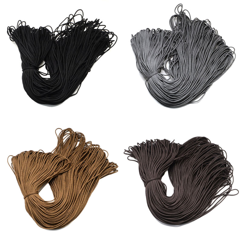 Pandahall 2mm 100m/bundle Polyester Spandex Cords Ropes For Jewelry Making DIY Braided Bracelet Necklace F80