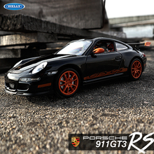Welly 1:24 Porsche GT3 RS 997 alloy car model Diecasts Toy