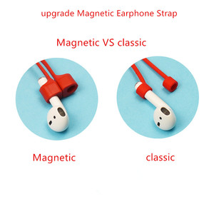 Image 3 - מגנטי אוזניות רצועת עבור Airpods אנטי אבודה רצועה מגנטי מחרוזת חבל עבור Bluetooth TWS אוזניות סיליקון כבל כבל