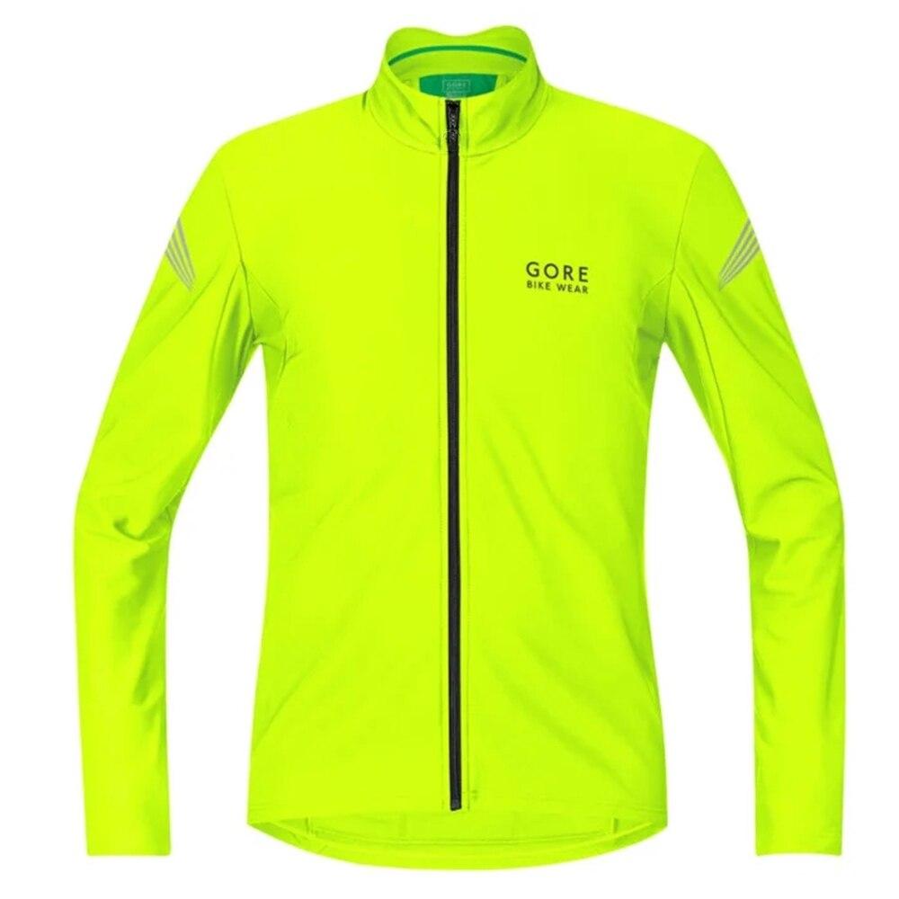 Гор одежда Велоспорт Джерси куртка Зимние теплые флисовые велосипедный Длинные рукава комплект Майо вельвет; Толстовки с рисунком