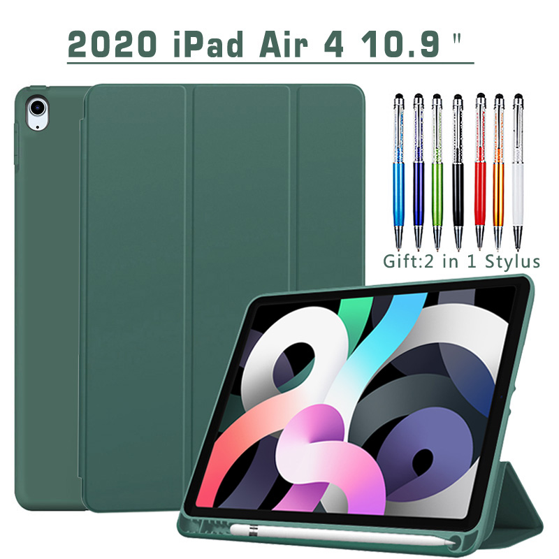 Magnetic Case For iPad Air 4 2020 10 9 inch flip case with Pencil Holder For