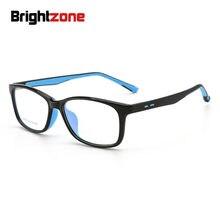 Nastolatki blokujące niebieskie światło komputerowe okulary dziecięce dzieci TR90 silikonowe oprawki optyczne Vintage jasne okulary przeciwodblaskowe punkty Zero