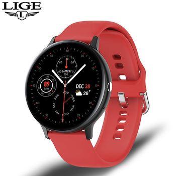 LIGE Smart Watch Men Women IP68 Waterproof Multiple Sports Mode Heart Rate Bluetooth Call Men Smartwatch For Huawei Xiaomi IOS 10