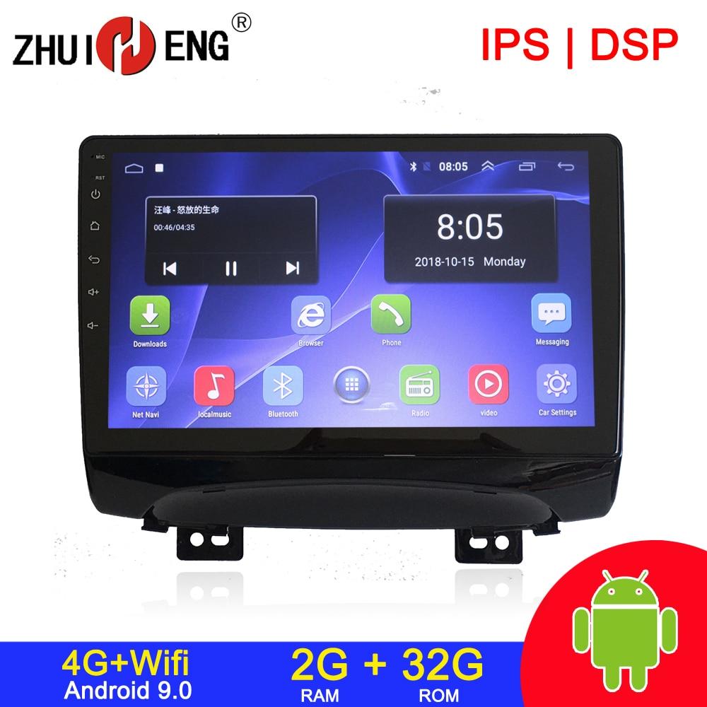 Rádio 2g 32g estereofônico audio do carro do autoradio do carro do reprodutor de dvd do carro 2g rádio 2 do ruído do carro de android 9.1 4g wifi 2 para jac refinar s3 2013-2016
