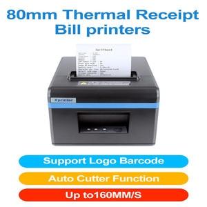 Image 2 - Xprinter 80 Mm Thermische Printers Ontvangst Pos Ticket Printer Met Auto Cutter Voor Keuken Usb/Ethernet Ondersteuning Kassalade esc/Pos