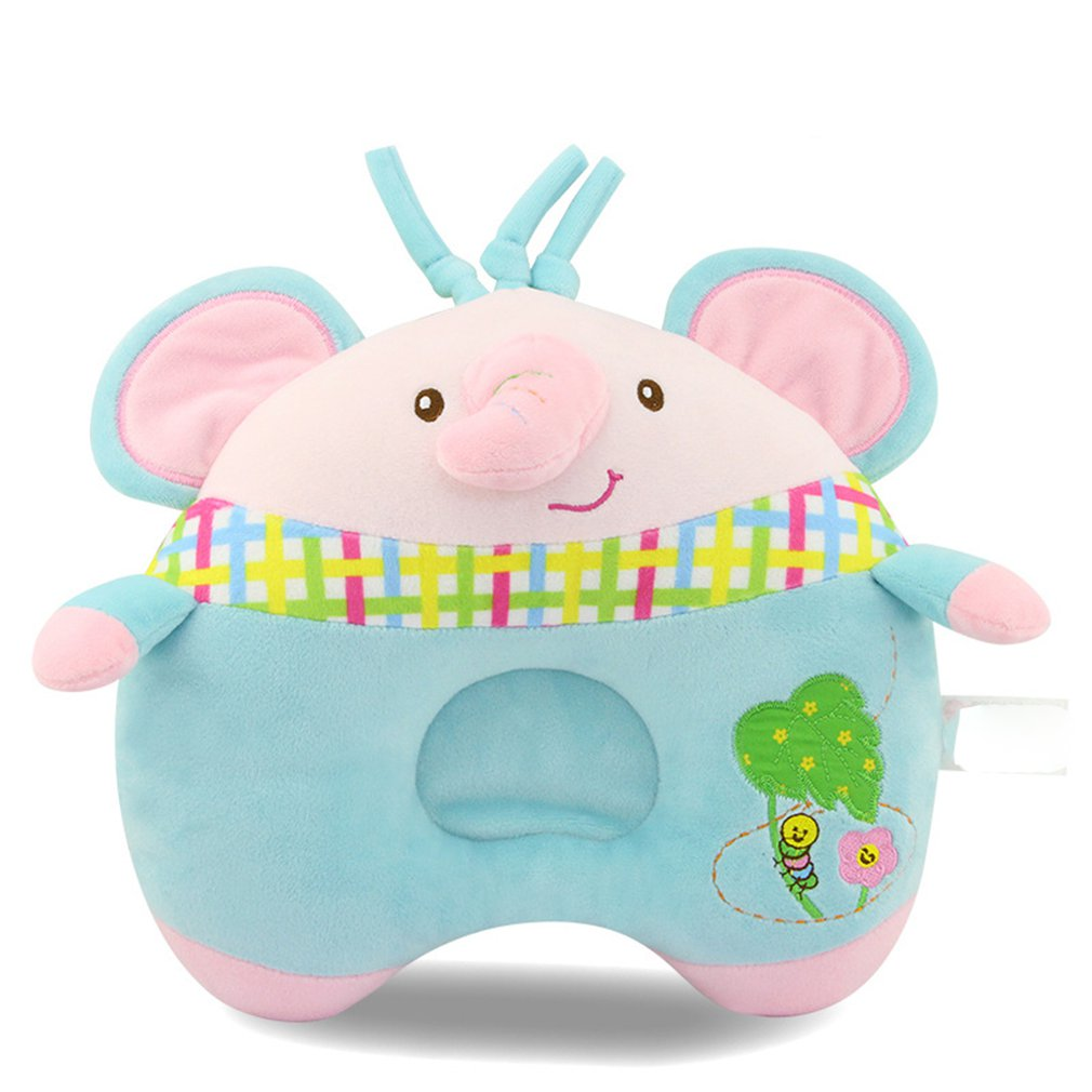 Infant Pillow 0-3 Year Old Autumn-winter Breathable Baby Cartoon Anti-deviation Pillow Orthodontic Pillow Safety Harmless