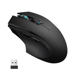 2.4G USB cicha bezprzewodowa mysz 2400DPI profesjonalna mysz dla graczy dla Macbook Lenovo Asus Dell ergonomiczne myszy gra komputerowa Mause