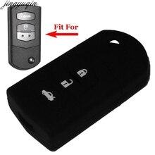 цена на Remote 3 Buttons Flip Folding Car Key Case Cover For Mazda 2 3 5 6 8 Atenza CX5 CX-7 CX-9 MX-5 RX Keyrings Holder Case