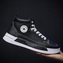Новинка; мужская повседневная обувь; высокие кроссовки; Мужская Вулканизированная обувь; кроссовки на платформе; качественные мужские кроссовки; Masculinas;