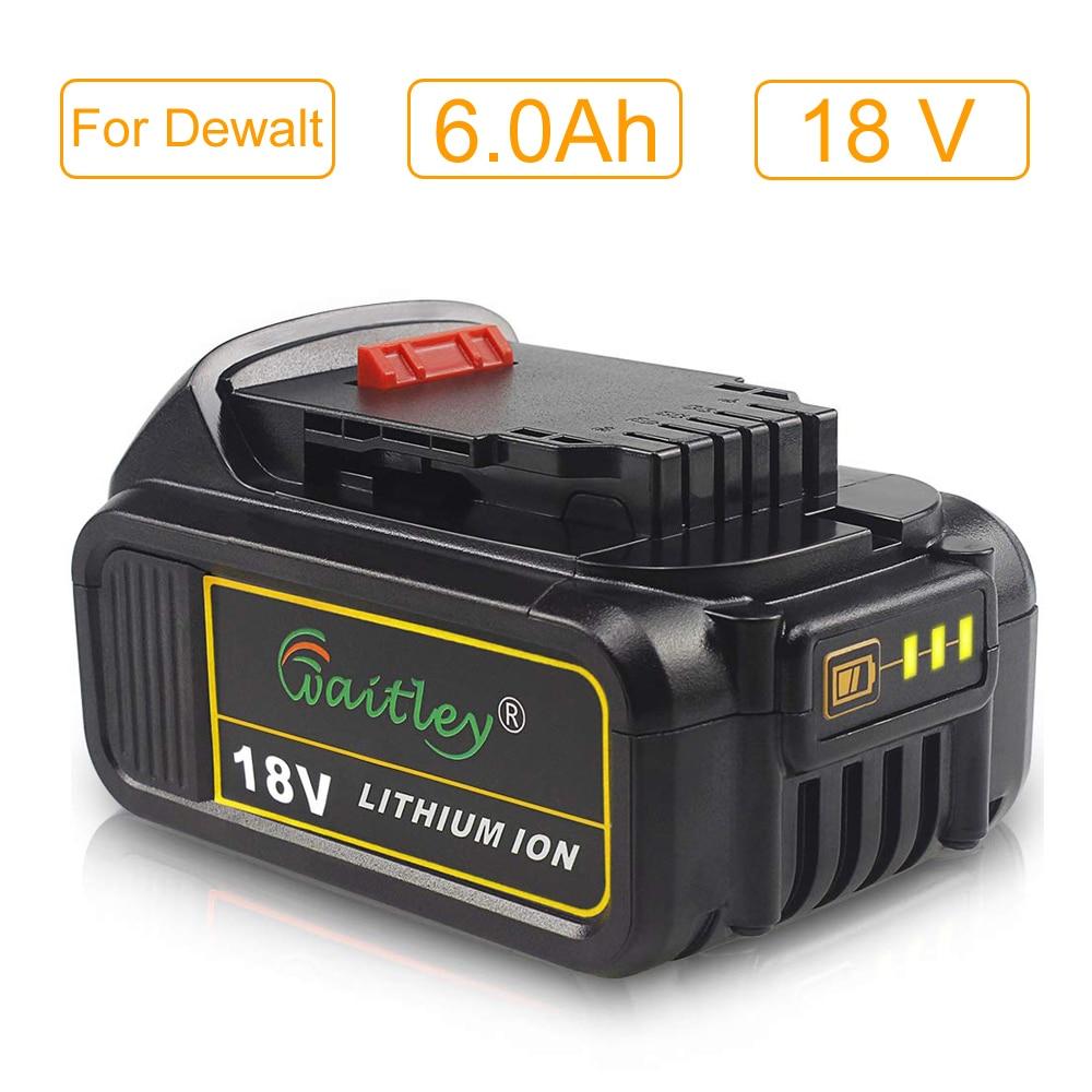 Waitley dcb200 18 v 6.0a bateria de
