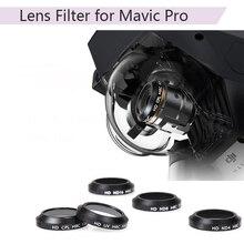 Filtro de lente UV CPL ND4 ND8 ND16 para cámara de Dron DJI Mavic Pro Platinum, filtro Gradual de Color azul, rojo, naranja, gris, piezas