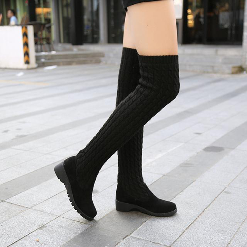 Women-s-Boots-2019-Autumn-Winter-Thigh-High-Boots-For-Woman-Shoes-Knitting-Wool-Long-Boot (2)