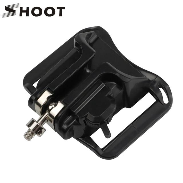 """Support de boucle de verrouillage de la taille de tir pour GoPro Hero 7 6 5 Yi 4k Nikon SJCAM H9r sangle étui araignée avec accessoire de vis 1/4"""""""