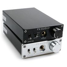 цена на FX-AUDIO DAC-X6 MINI HiFi 2.0 Digital Audio Decoder DAC  24Bit/96KHz  Input USB/Coaxial/Optical Output RCA/ Amplifie