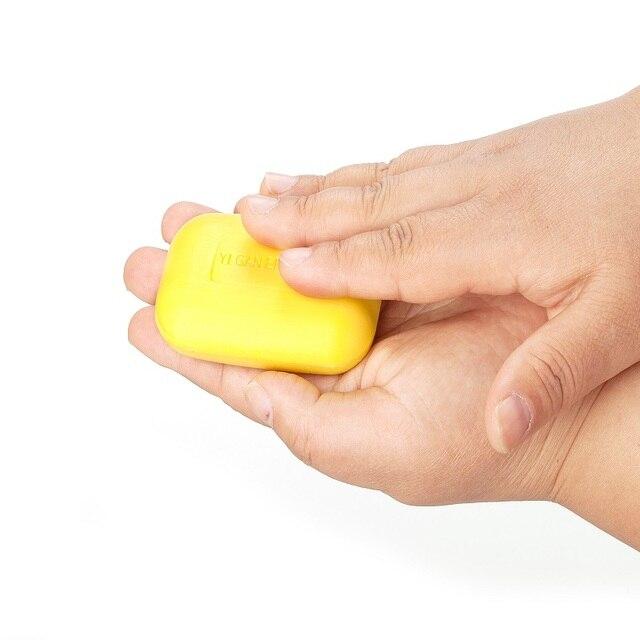 Yiganerjing Sulfur Soap Skin Conditions Acne Psoriasis Seborrhea Eczema Anti Fungus Bath  Whitening Soap Shampoo 4