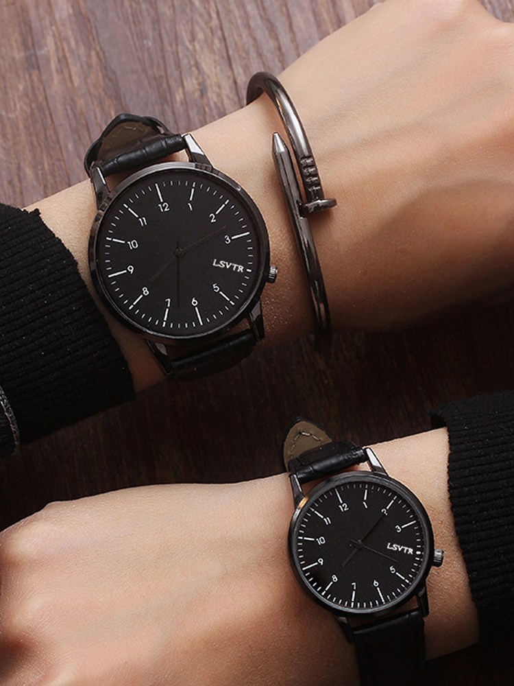 Couple Watches No-Bangle Gifts Men High-Quality Women New-Fashion Lover's for Pareja-Pair