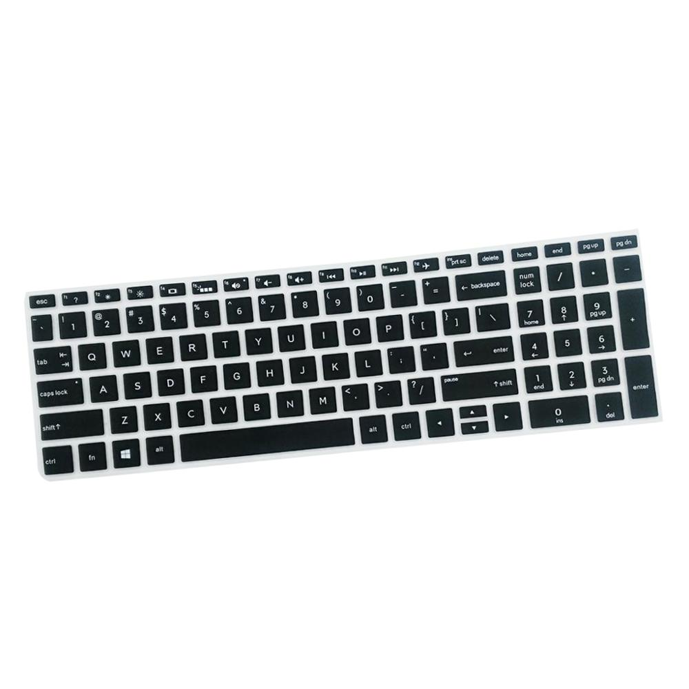 Hight Quality Notebook Keyboard Stickers Skin Cover Keycaps for HP 15.6''BF Laptop soft Silicone-5
