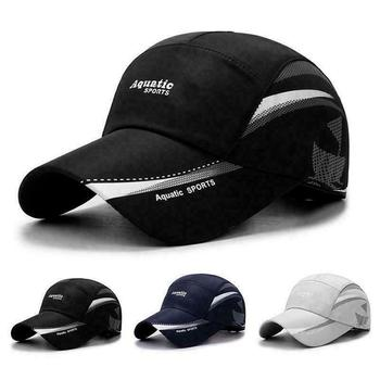 New Waterproof Baseball Cap Summer Outdoor Sport Breathable Caps Fashion Leisure Hat Simple Sunscreen Duck Tongue