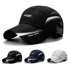 New Waterproof Baseball Cap Summer Outdoor Sport Breathable
