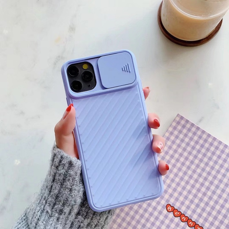 Popular Style TPU Soft Matte Smooth Hand Feeling Pure Color Camera Protection Phone Case For iphone 678/Plus XR XS MAX 11ProMax 5