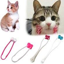 Кошка массажер роликовый питомец массаж интересные игрушки товары для домашних животных кошка интерактивный массаж игрушка ролик для лица игрушка для кошек