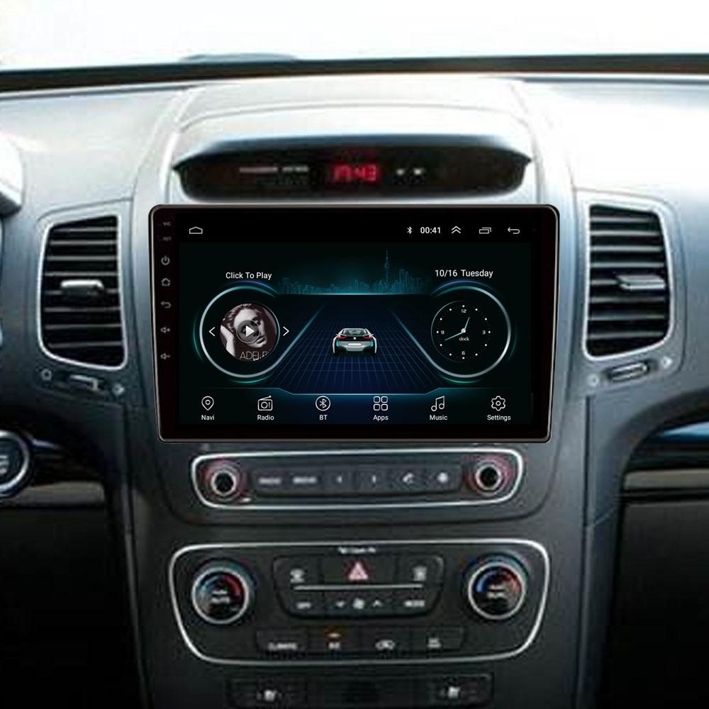 4G LTE Android 8.1 For KIA Sorento 2013 2014 Multimedia Stereo Car DVD Player Navigation GPS Radio