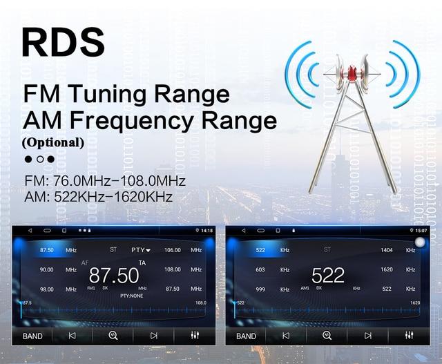 """Автомобильное радио 2 Din Android GPS навигация автомобильное радио стерео 7 """"Wifi Bluetooth RDS IPS DSP аудио Универсальный мультимедийный автомобильный плеер 3"""