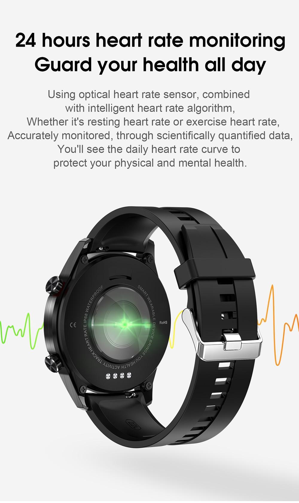 Ha9ad21a95aa641ffaf9de62685fb2d02w For Phone Xiaomi Android IOS Reloj Inteligente Hombre Smartwatch Men 2021 Android IP68 Smartwatch Answer Call Smart Watch Man