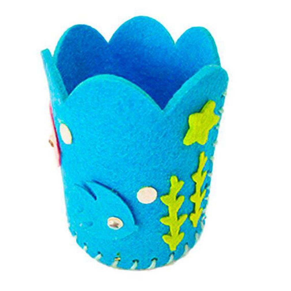 Children's Educational Toy Handcraft Creative DIY Non-woven Pen Holder