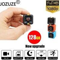 Sq11 mini câmera de vídeo camcorder para esportes, dv, sensor de movimento, visão noturna, filmadora, dvr, ultra pequena, hd 1080p, cam sq 11