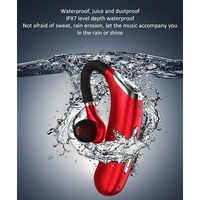 M50 Handsfree Wireless Bluetooth Earphones Noise Headphone Business Headset with Mic for Driver Sport Smartphones