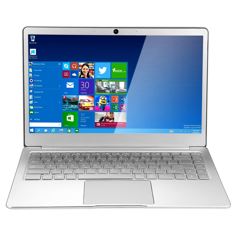 14 Inch 8GB RAM DDR4 256GB SSD Notebook Intel Celeron J3455 Quad Core Laptops With FHD 1920x1080 Display Laptop Computer