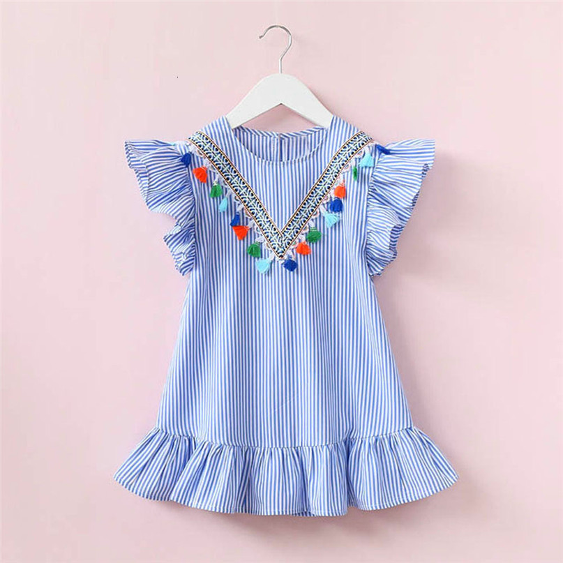 Ha9adc1d063ac42bfafc88c07bc2be3b6X Kids Dresses Girls 2017 New Fashion Sweater Cotton Flower Shirt Short Summer T-shirt Vest Big For Maotou Beach Party Dress