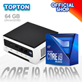 Дешевый 10-го поколения мини ПК Intel Core i9 10880H 9880H 2 * M.2 2280 NVMe Windows 10 Pro игровой настольный компьютер 2 * DDR4 4K HTPC мини ПК