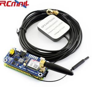 SIM868 GSM GPRS GNSS Bluetooth 3.0 kapelusz dla Raspberry Pi 2B/3B/Zero/Zero W wsparcie SMS telefon CP2102 UART WS0005